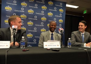 nuggets connelly shaw kroenke