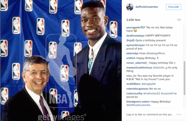 Mutumbo Instagram 6-25-15