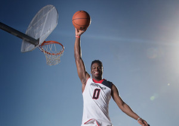 High School Basketball: Emmanuel Mudiay Portrait Session