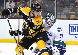 NHL: Vancouver Canucks at Boston Bruins