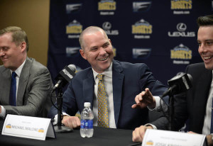 NBA: Denver Nuggets-Press Conference