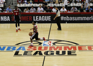 NBA: Summer League-Chicago Bulls vs Miami Heat