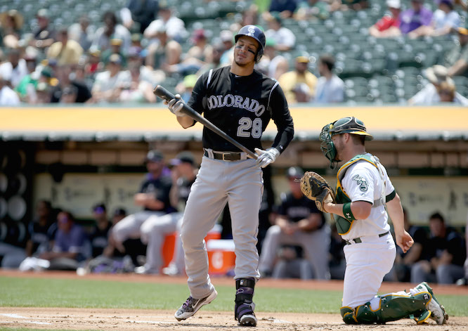 MLB: Colorado Rockies at Oakland Athletics
