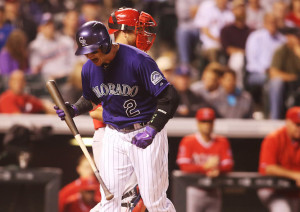 MLB: Los Angeles Angels at Colorado Rockies
