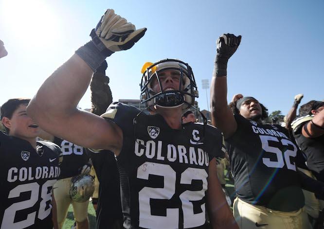NCAA Football: Hawaii at Colorado