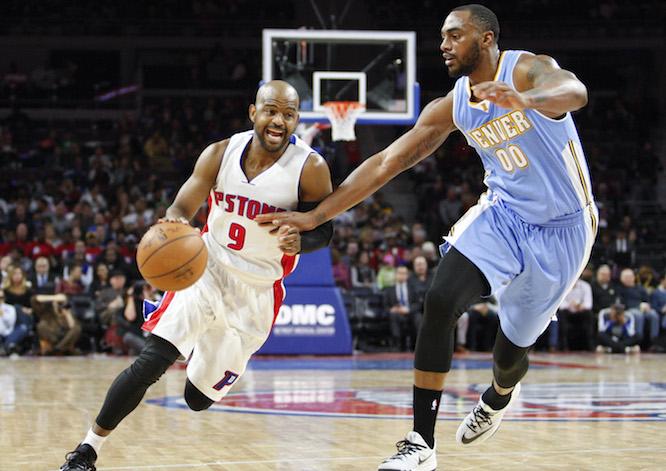 NBA: Denver Nuggets at Detroit Pistons