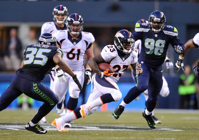 NFL: Preseason-Denver Broncos at Seattle Seahawks