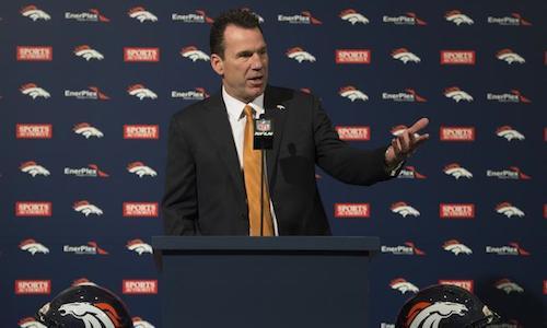 Denver Broncos intorduce Gary Kubiak as new head coach