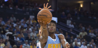 Emmanuel Mudiay and Gary Harris