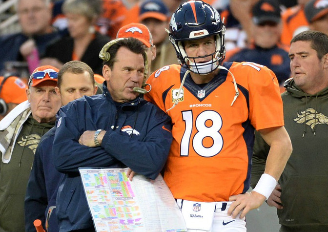 Peyton Manning had something very interesting to say