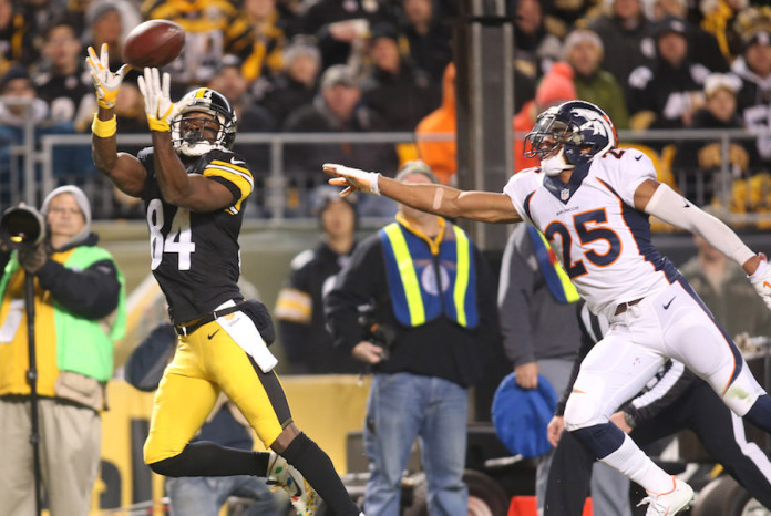 Antonio Brown would not commit to showing up with Bills