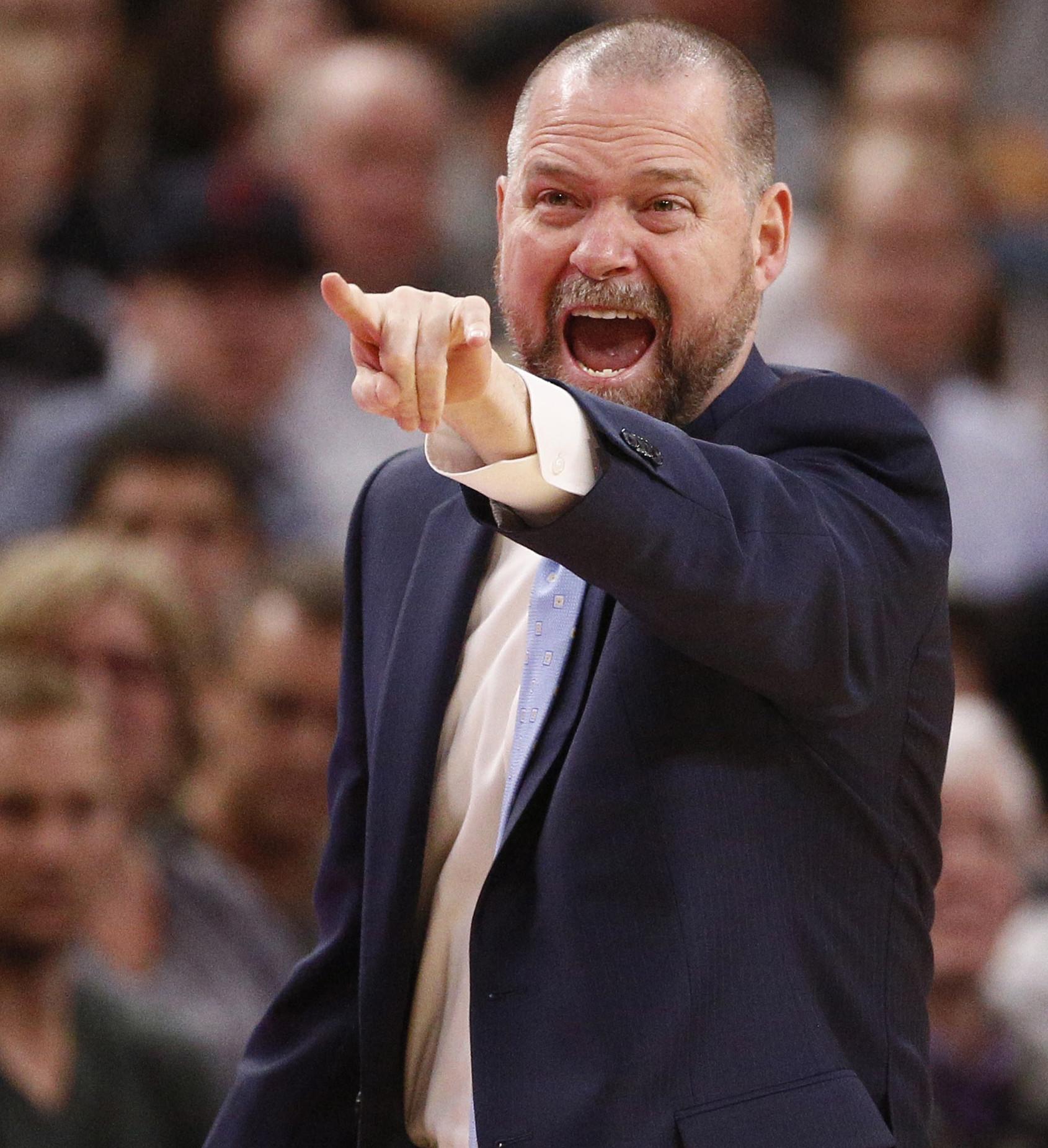 Denver Nuggets Malone: Malone Denver Nuggets At San Antonio Spurs