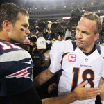 Tom Brady and Peyton Manning's rivalry