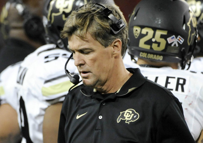Mike MacIntyre's father