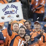 Broncos victory over the Patriots