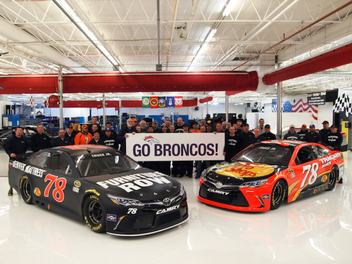 Watch Furniture Row Racing Revs Its Engines In Support Of Denver Broncos Mile High Sports