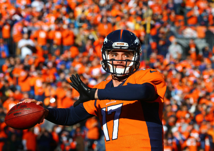 Awkward! Brock Osweiler is returning to the Denver Broncos