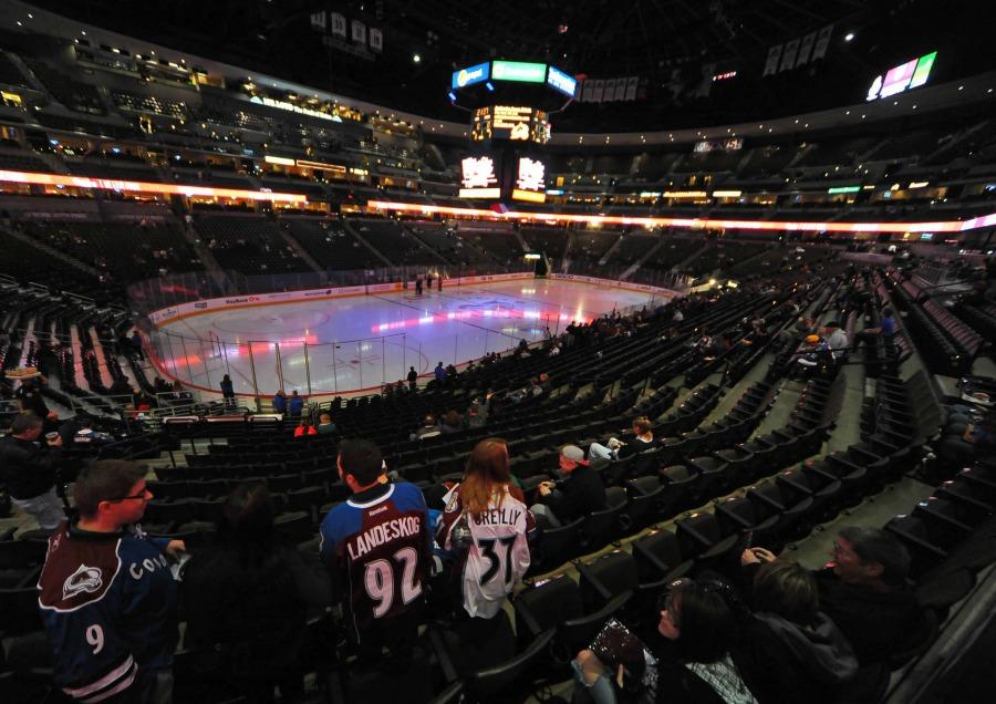 Colorado Avalanche, Colorado Avalanche fans, Pepsi Center
