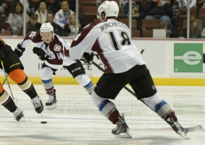 No. 18 for the Colorado Avalanche