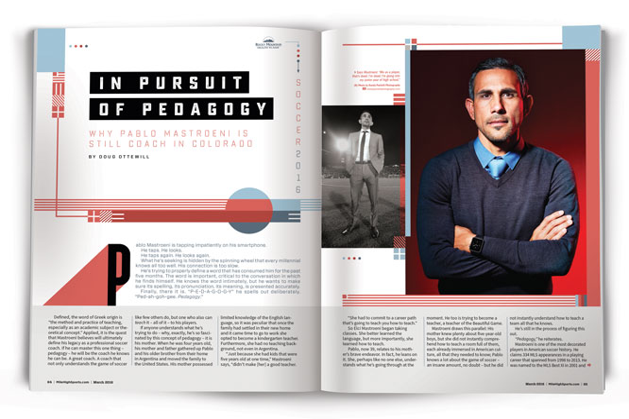 Why Pablo Mastroeni is still coach