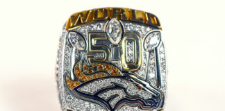 Super Bowl 50 championship rings