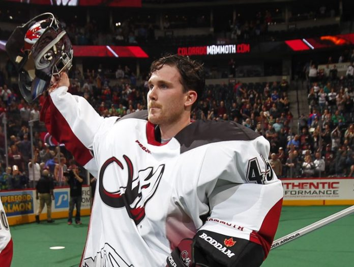 """High Point Lacrosse >> Dillon Ward named NLL """" 2016 Goaltender of the Year ..."""