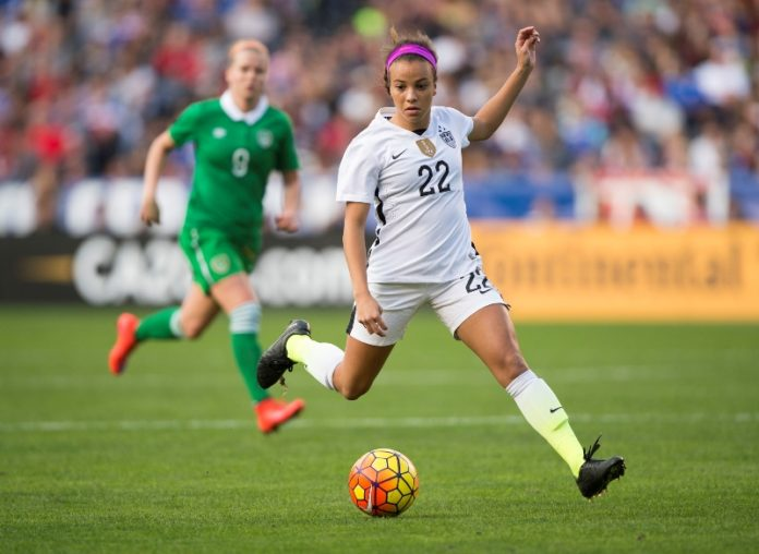 Mallory Pugh Named To The 2016 Olympic Soccer Team Mile