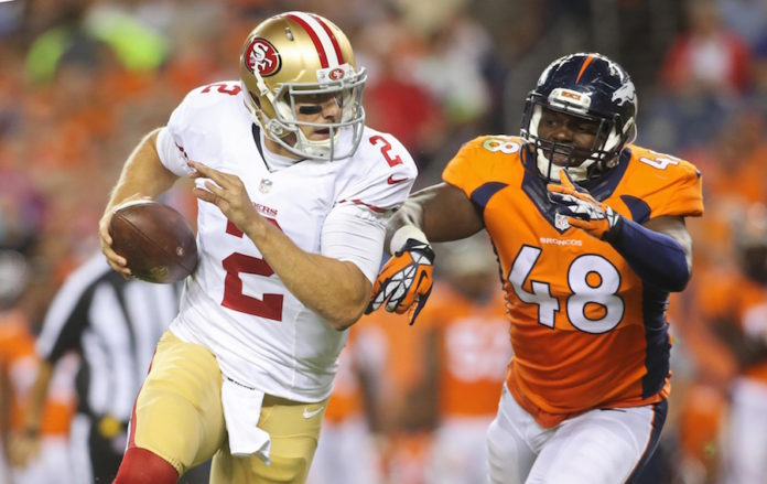 DeMarcus Ware Close To Returning As 49ers Come To Town