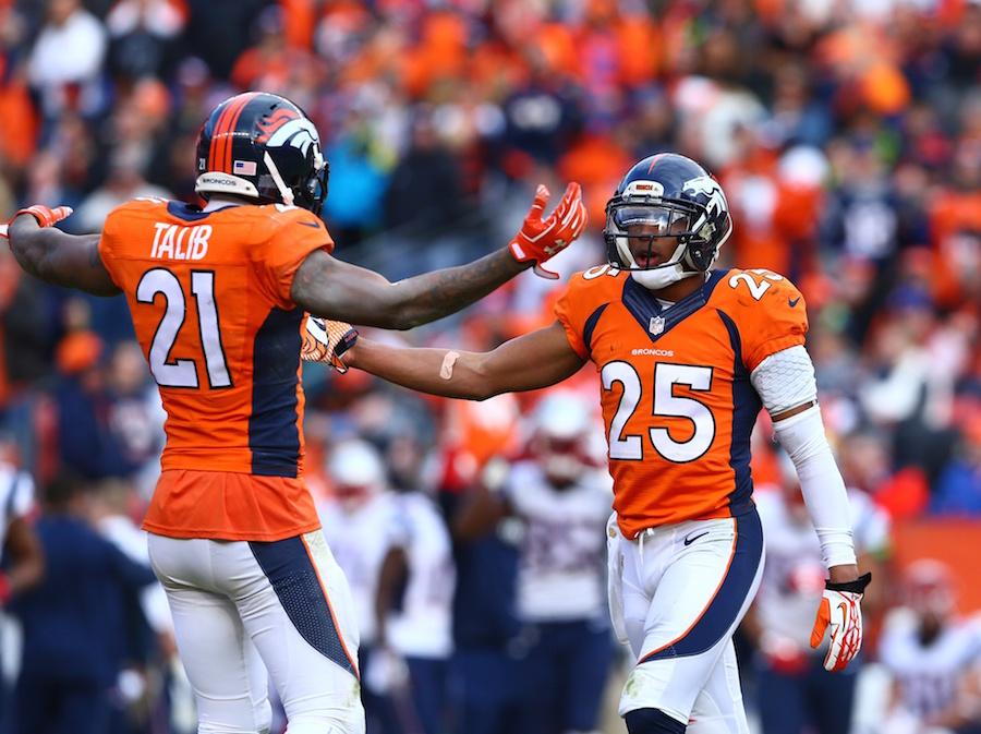 Aqib Talib Chris Harris Denver Broncos