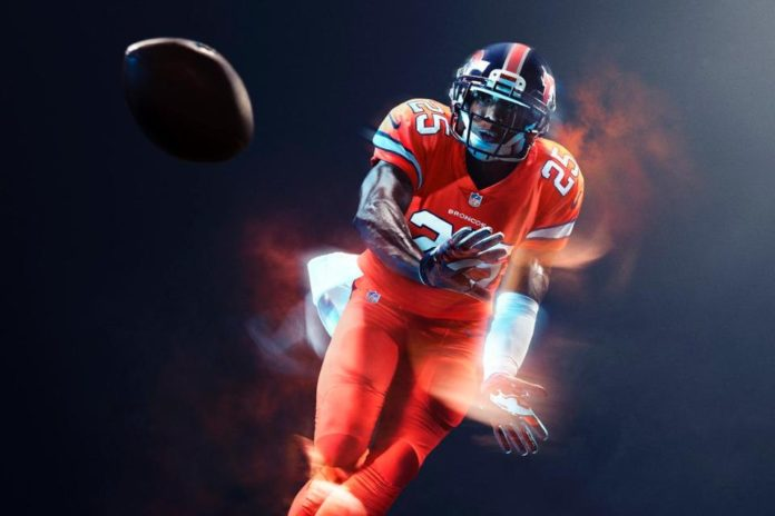 Look Catch A Sneak Peek At The Denver Broncos Color