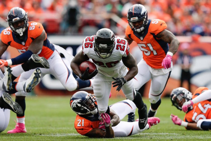 Falcons rely on defense in 23-16 win over Broncos