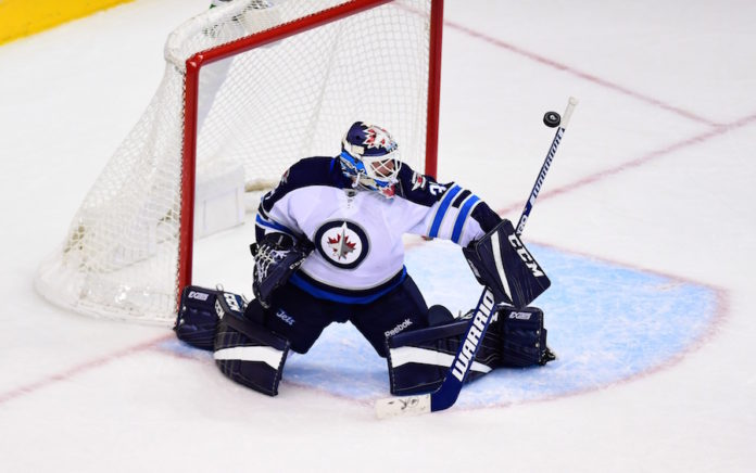 Goalie hope for Jets? Hutchinson shuts down Avs