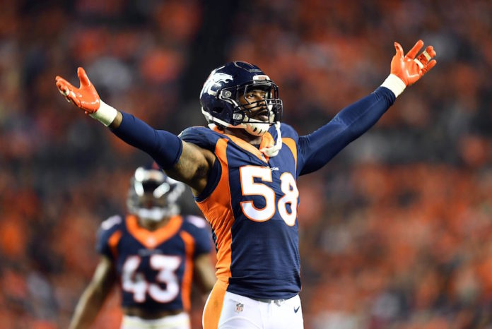 online store a64bd 68c80 LOOK: Von Miller passes Karl Mecklenburg for second all-time ...