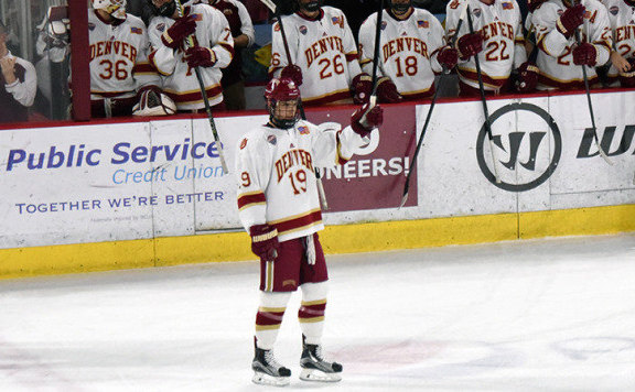 NCAA: DU Forward Troy Terry Named College Hockey's Star Of The Week