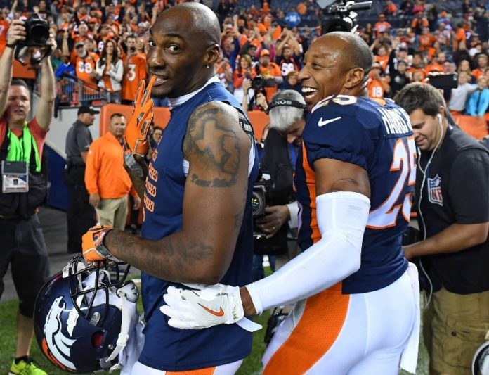 Chris Harris And Aqib Talib Ranked As The Nfl S Best Cornerbacks In 2016