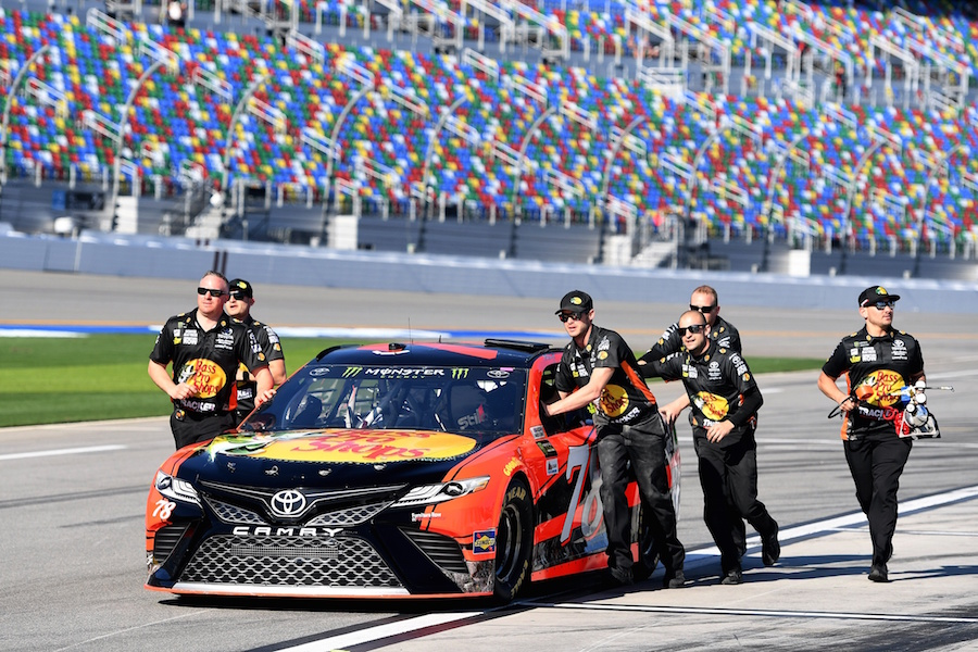 Furniture Row Posts Fifth And 20th Fastest Speeds At Daytona Qualifying Mile High Sports