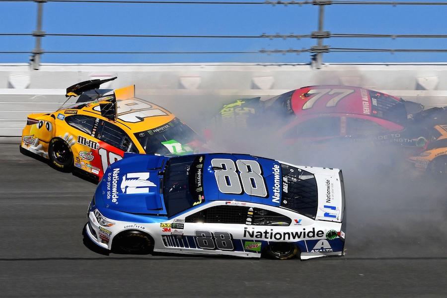Furniture Row Racing S Daytona 500 Hopes Cut Short By Crash Fuel Mile High Sports