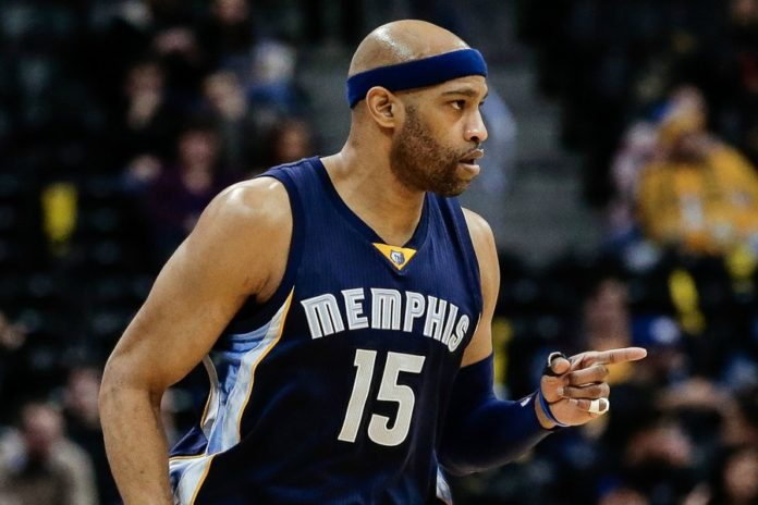 huge selection of e9664 d22c1 Grizzlies' Vince Carter joins elite company against the Nuggets