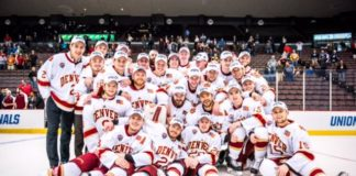 Credit: No. 1 Denver Pioneers punch their ticket 2017 Frozen Four