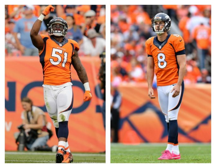 Broncos place 2nd-round tenders on Davis, McManus