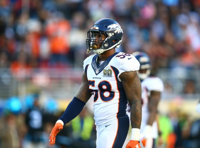 uk availability 1ad22 2c0a9 Von Miller gets his Super Bowl 50 helmet back from the FBI