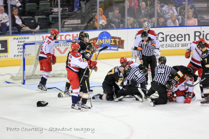 ECHL: Eagles And Americans Get Chippy In Game 4
