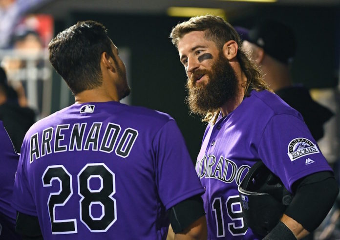 Senzatela shuts down Cards over 8 innings, Rockies win 10-0