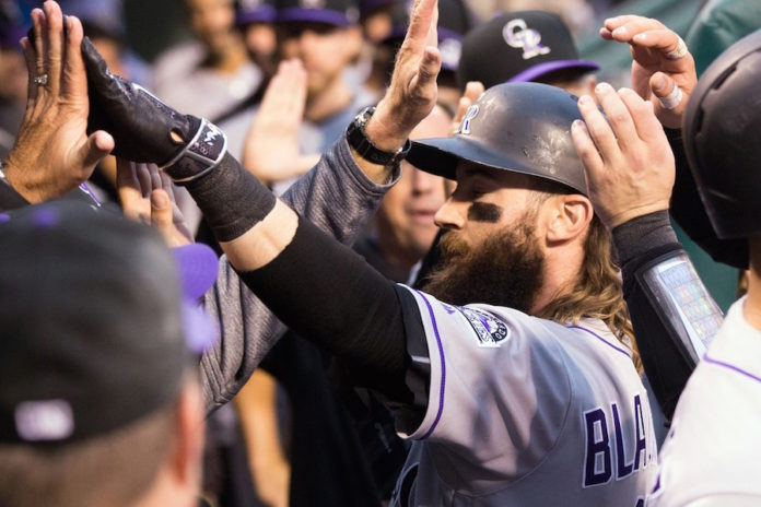 Chatwood allows 1 hit in 7 innings, Rockies top Phillies 7-2