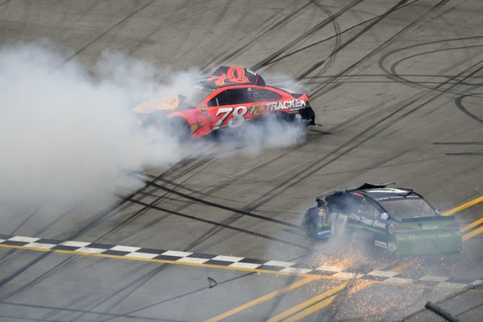 Aric Almirola's fourth-place vehicle  fails NASCAR post-race inspection at Talladega