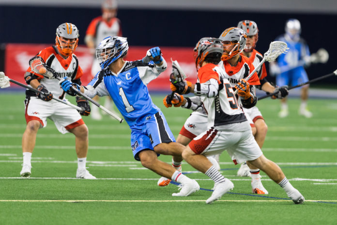 Machine score seven unanswered to down Outlaws in MLL ...