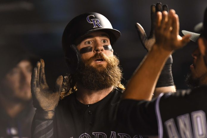 Blackmon sets Major League Baseball record for RBIs by leadoff hitter