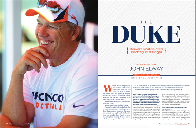 Tbt The Mile High Interview John Elway Mile High Sports
