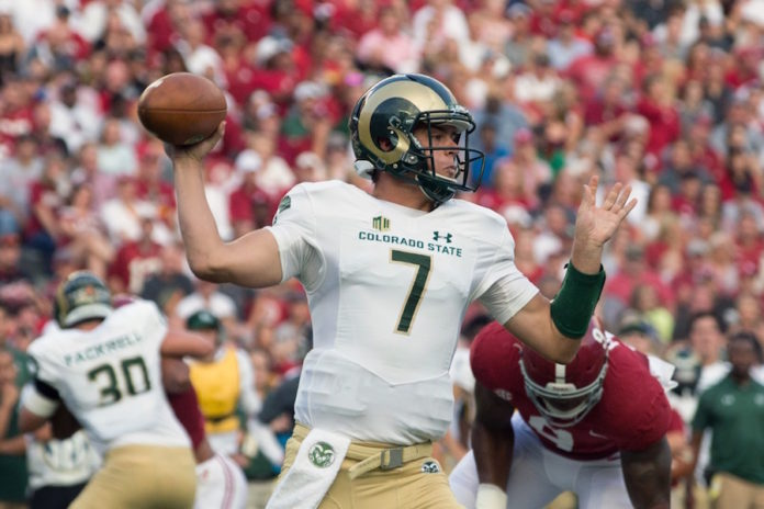 Colorado State QB Nick Stevens makes cut for Unitas Award