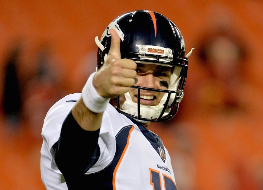 d985c0b16 Denver Broncos head coach Vance Joseph has informed the team that Brock  Osweiler will ...